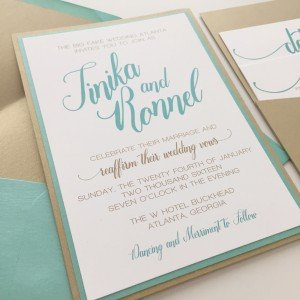Wedding Invitations by oh my! designs