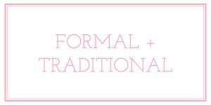Formal Traditional Invitation Wording