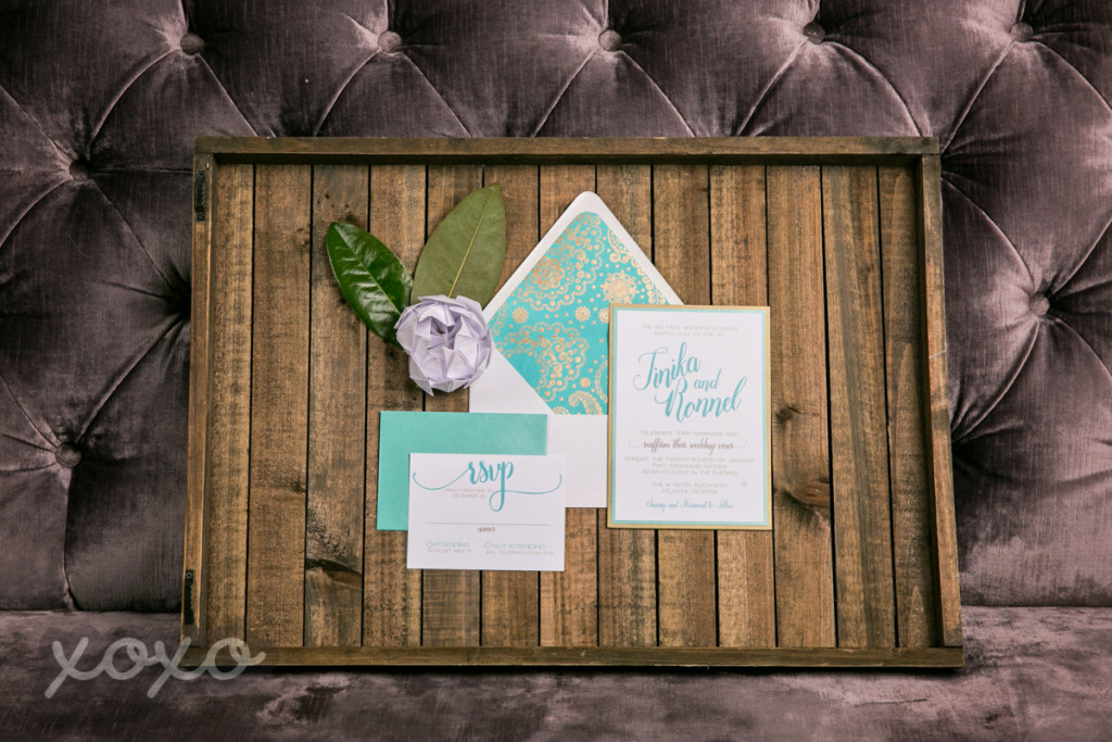Jewel Tone Wedding Invitations
