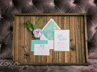 Jewel Tone Wedding Invitations