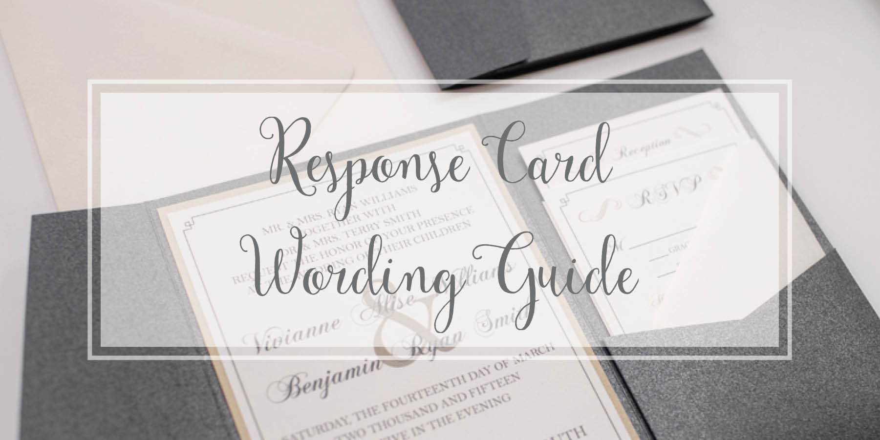 What A Wedding Invitation Should Say: What Should My RSVP Card Include?