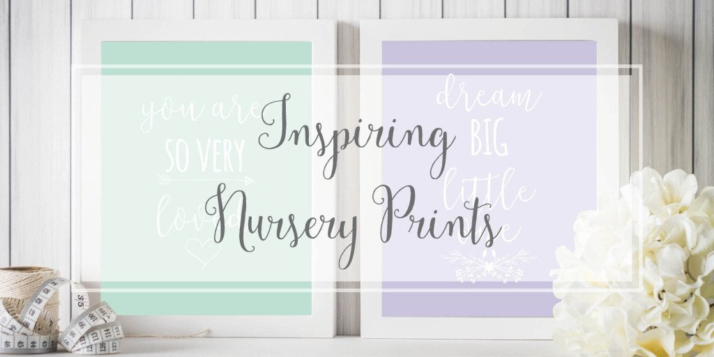Nursery Prints Artwork for Baby