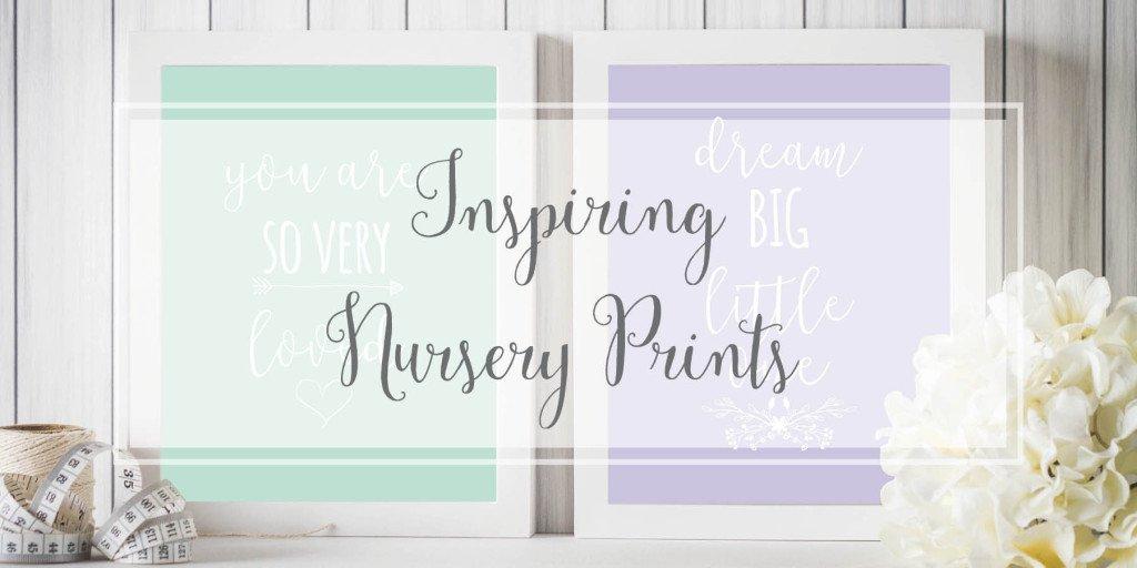 Nursery Prints Artwork for Baby