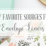 Where do I find unique envelope liners?