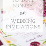 Nine Ways to Save Money on Wedding Invitations