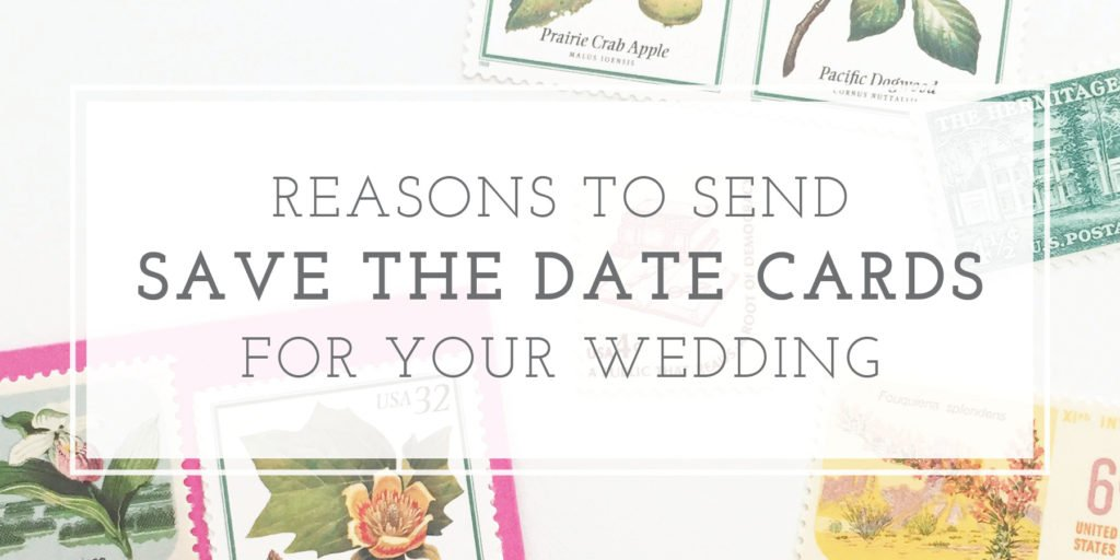 Are save the dates really necessary?