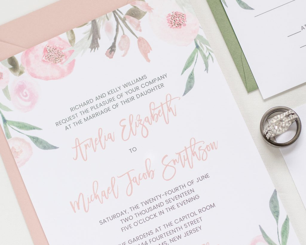 Atlanta Wedding Invitations
