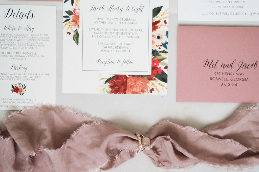 Ideas for Wedding Invitation Keepsakes | oh my! designs by steph