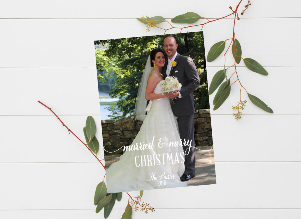 married christmas cards archives oh my designs by steph