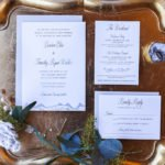 Dusty Blue Mountain Themed Wedding Styled Shoot