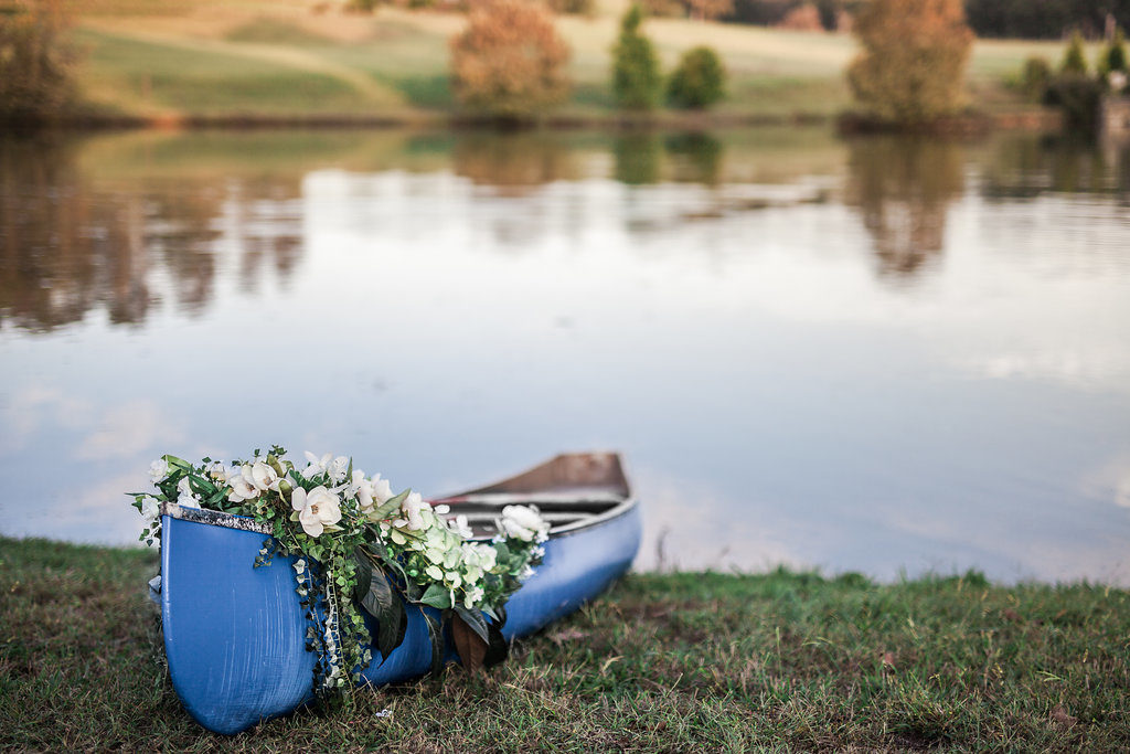 Vintage Blue Canoe Styled Shoot