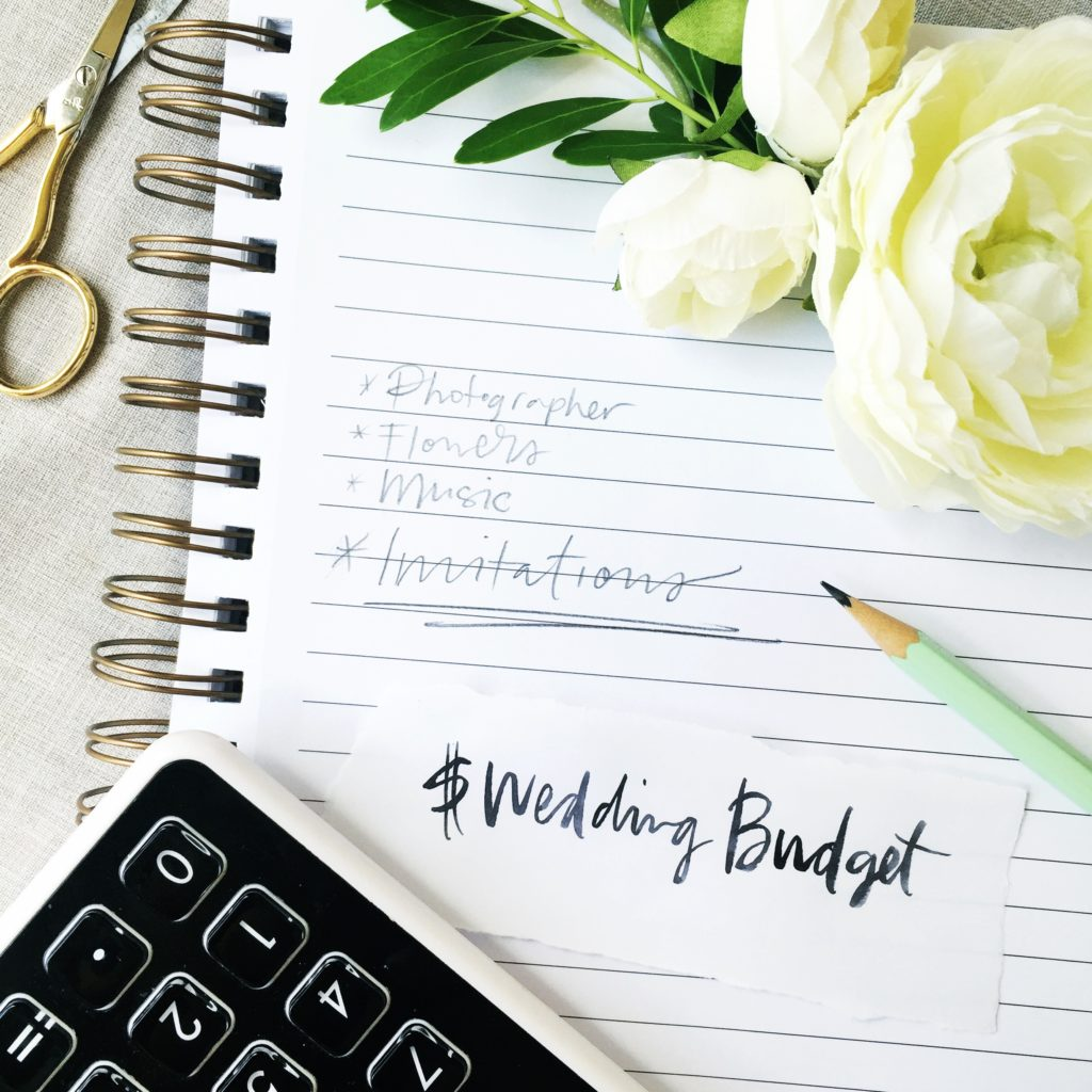 Tips on Setting a Wedding Budget