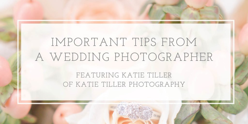 Tips from a Wedding Photographer