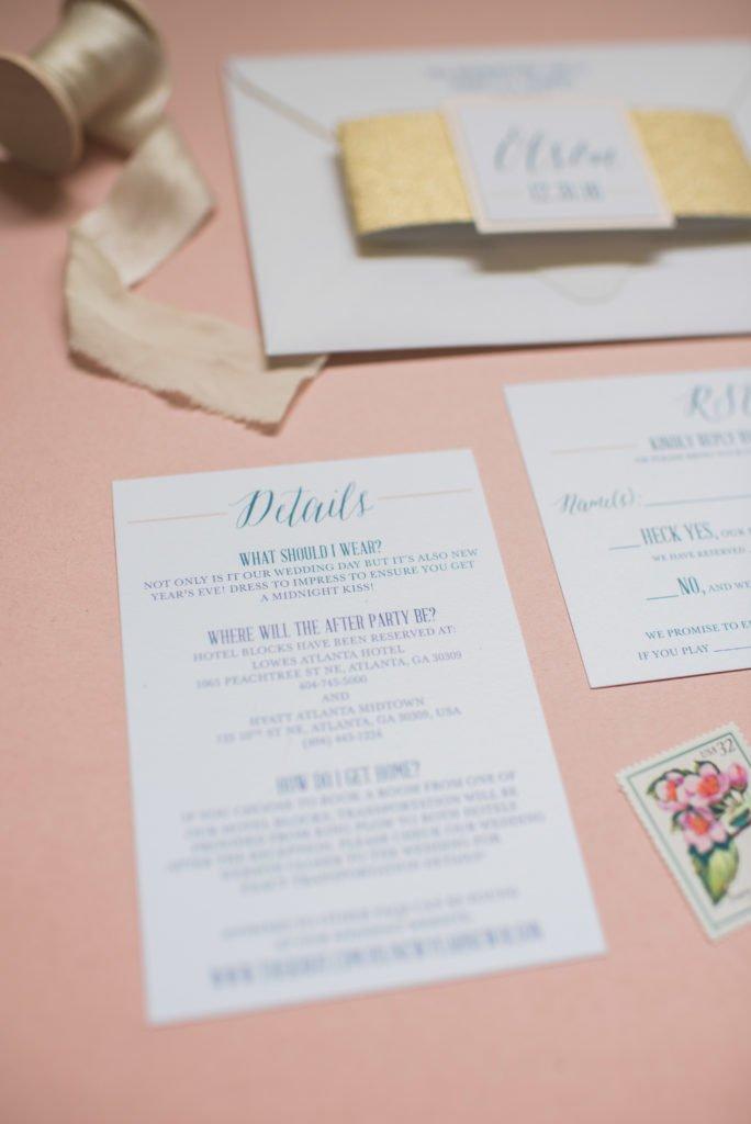 Wedding Website Invitation