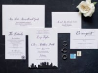 Atlanta Skyline Wedding Invitations
