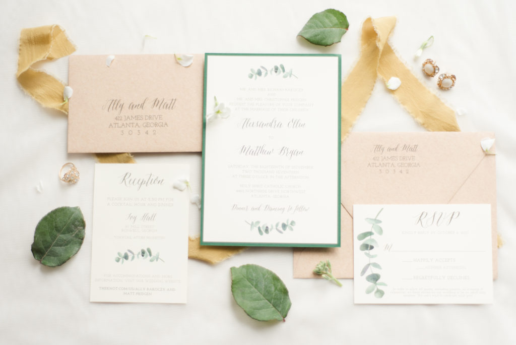 Ivy Hall Wedding Invitations