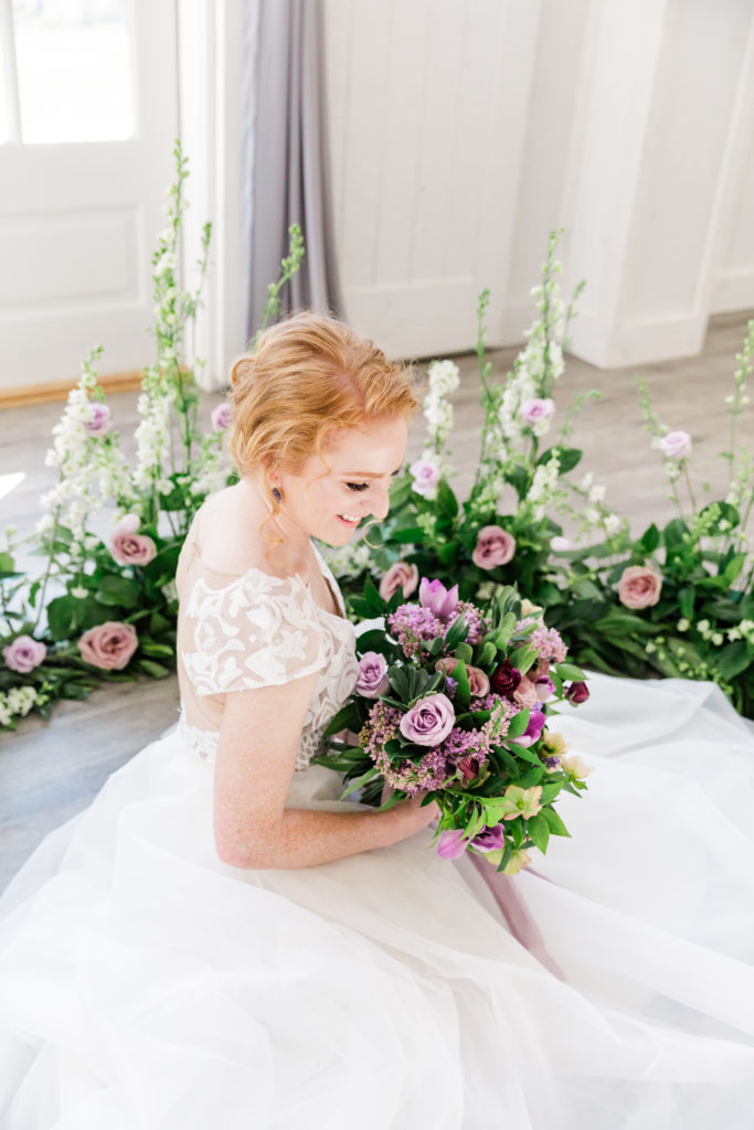 Lavender Floral Bouquet