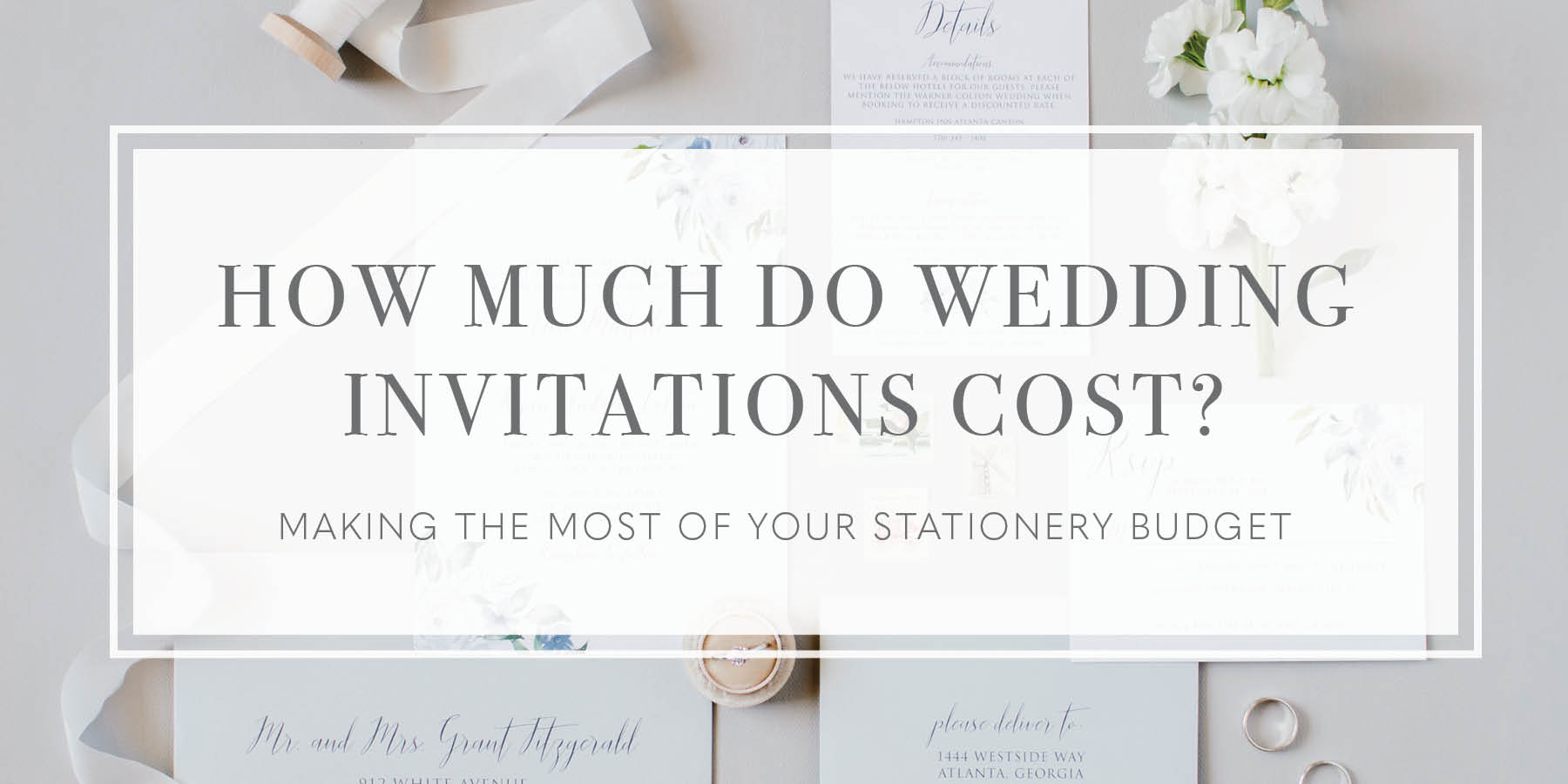 How Much Do Wedding Invitations Cost Oh My Designs By Steph