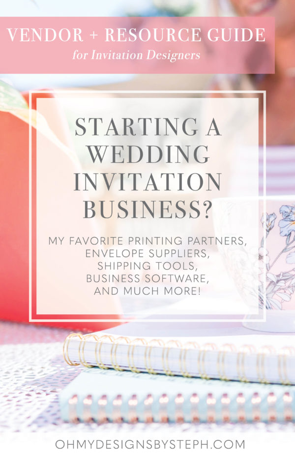 How to start a wedding invitation business