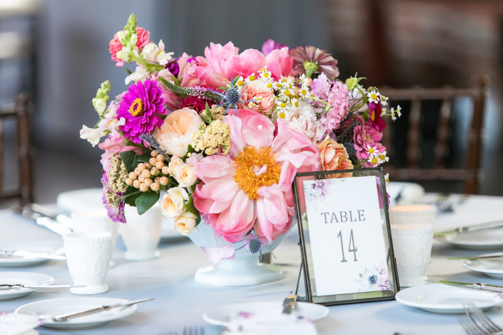 Day of Stationery: Wedding Reception Table Numbers