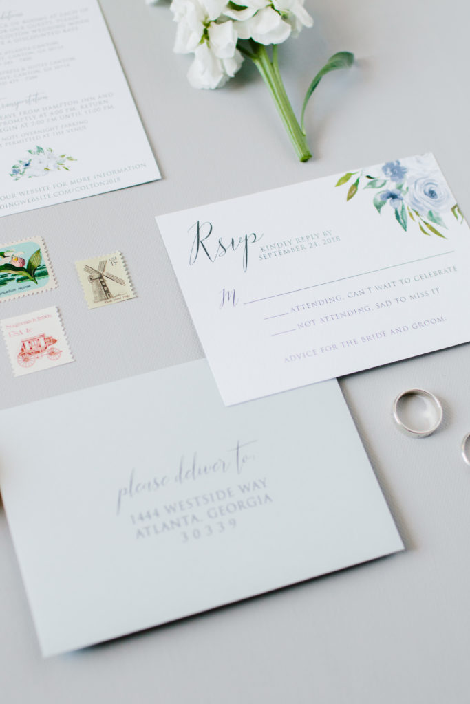 "Why you don't need the ""Reserved Seats"" wording on your wedding RSVP card"