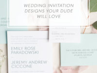 Groom Approved Wedding Invitations