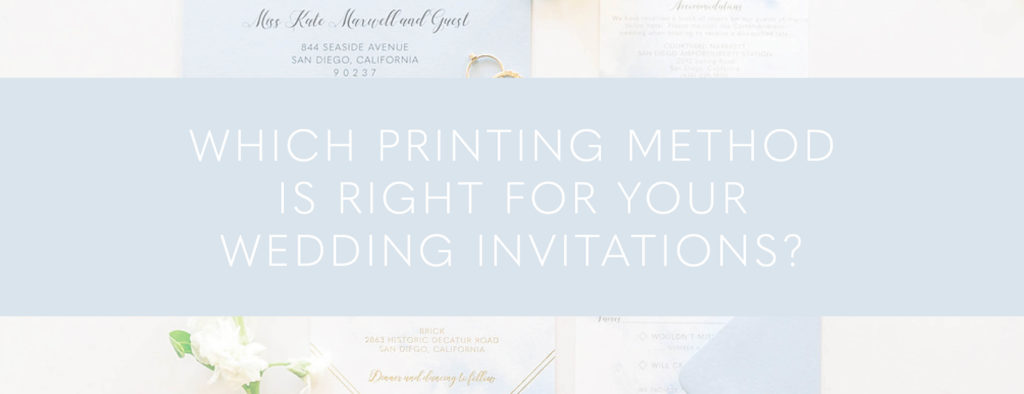 Printing Method for Wedding Invitation Quiz