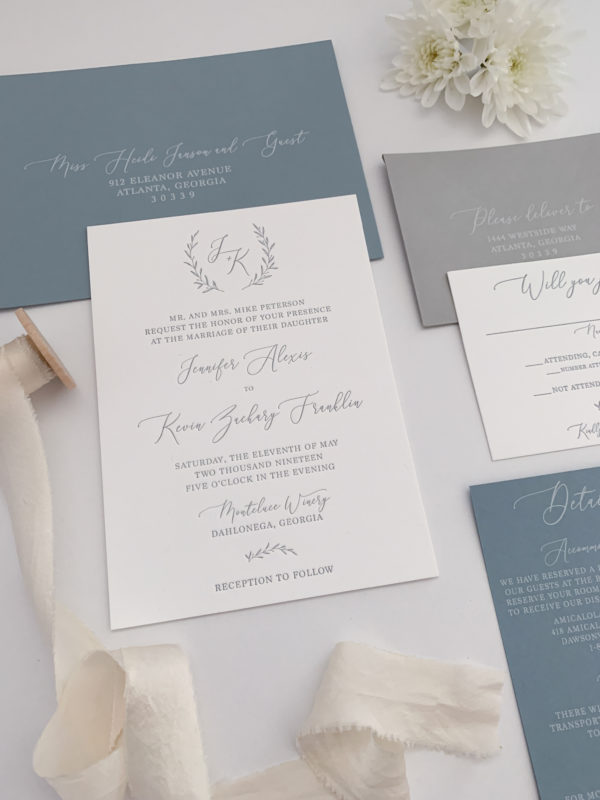 Monogram-Wedding-Invitations
